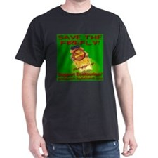Save The Firefly No Mining Support EcoTourism T-Shirt