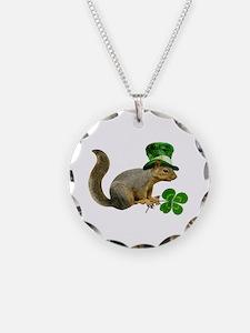 Leprechaun Squirrel Necklace
