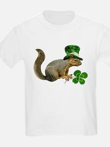 Leprechaun Squirrel T-Shirt