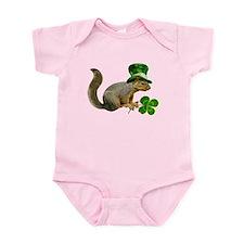 Leprechaun Squirrel Infant Bodysuit