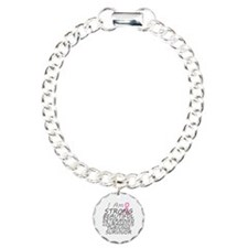 Breast Cancer Strong Survivor Bracelet