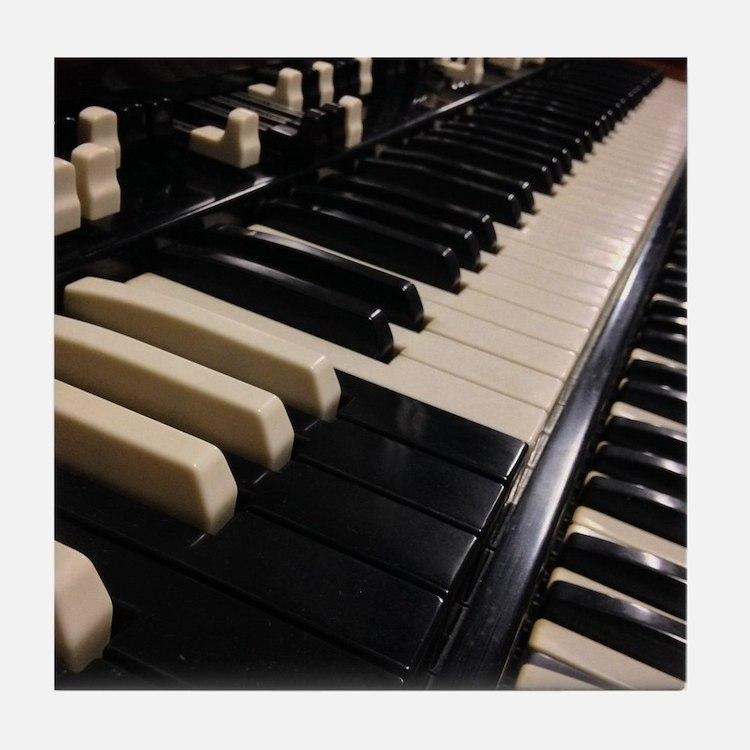 1955 Hammond B3 Tile Coaster