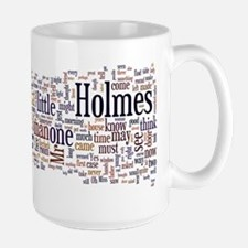 Sherlock Holmes Word Cloud Mugs
