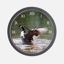 Canada Goose Winged Spirit Wall Clock