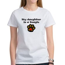 My Daughter Is A Beagle T-Shirt
