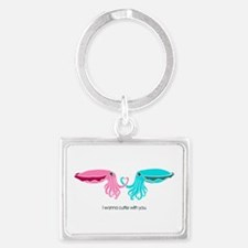 Cuttle with You Keychains