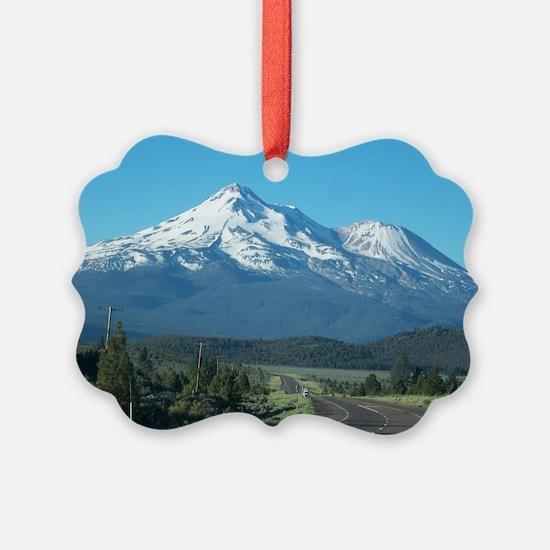Mt. Shasta Ornament