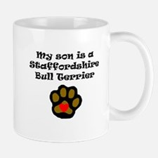 My Son Is A Staffordshire Bull Terrier Mugs