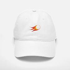 Flaming Golf Ball Baseball Baseball Baseball Cap