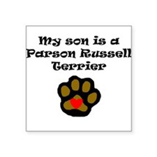 My Son Is A Parson Russell Terrier Sticker