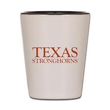 Texas Stronghorns Shot Glass