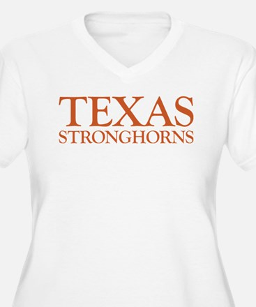 Texas Stronghorns Plus Size T-Shirt