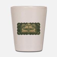 old money 11 Shot Glass