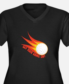 Get Your Game On Plus Size T-Shirt