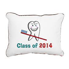 Dental Class of 2014 Rectangular Canvas Pillow