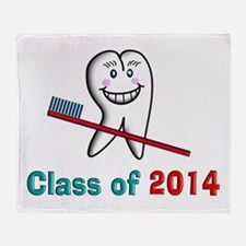 Dental Class of 2014 Throw Blanket