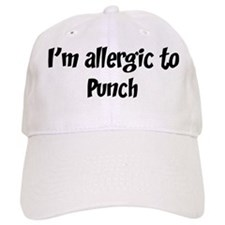 Allergic to Punch Baseball Cap