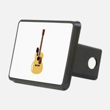 Acoustic Guitar and Bird Hitch Cover
