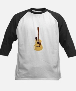 Acoustic Guitar and Bird Baseball Jersey