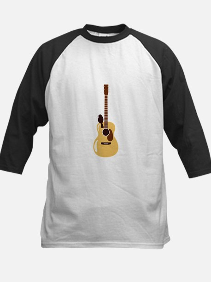 Acoustic Guitar and Bird Baseball Jersey