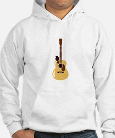 Acoustic Guitar and Bird Hoodie