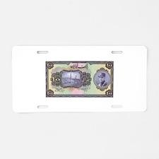 old money 16 Aluminum License Plate