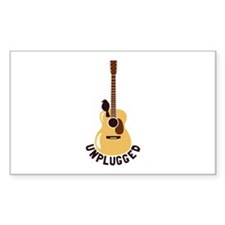 Unplugged Decal