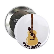 "Unplugged 2.25"" Button (10 pack)"