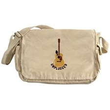 Unplugged Messenger Bag