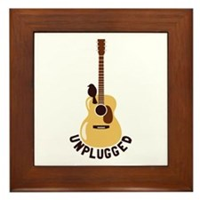 Unplugged Framed Tile