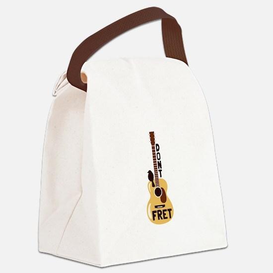 Dont Fret Canvas Lunch Bag