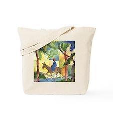 August Macke - Donkey Rider Tote Bag