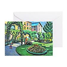 August Macke - Gartenbild Greeting Card