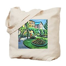 August Macke - Gartenbild Tote Bag