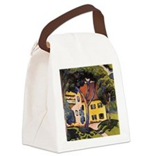 August Macke - House in a Landsca Canvas Lunch Bag