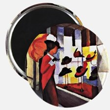 August Macke - The Hat Shop Magnet