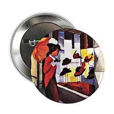 "August Macke - The Hat Shop 2.25"" Button"