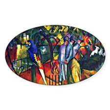 August Macke - Zoological Garden Decal