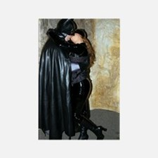 Rectangle Magnet Batman Kissing Catwoman