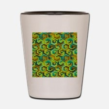 back in the 60s green Shot Glass