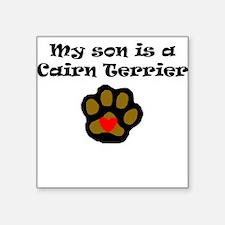 My Son Is A Cairn Terrier Sticker
