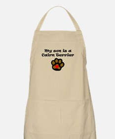 My Son Is A Cairn Terrier Apron