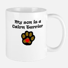My Son Is A Cairn Terrier Mugs