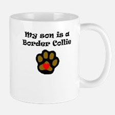 My Son Is A Border Collie Mugs