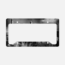 Abandoned Croft License Plate Holder