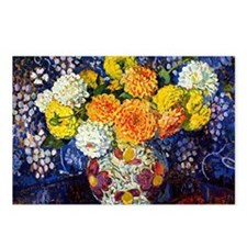 Vase of Flowers, 1907, Th Postcards (Package of 8)