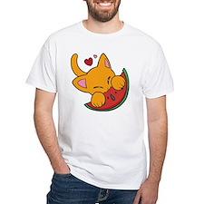 Kawaii Watermelon Kitty Shirt