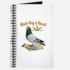 Which Way Is Home? Fun Lost Pigeon Art Journal