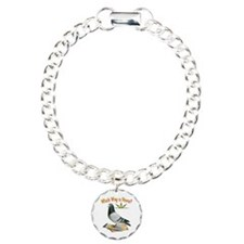 Which Way Is Home? Fun Lost Pigeon Art Bracelet