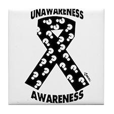 Unawareness Awareness 2 Tile Coaster